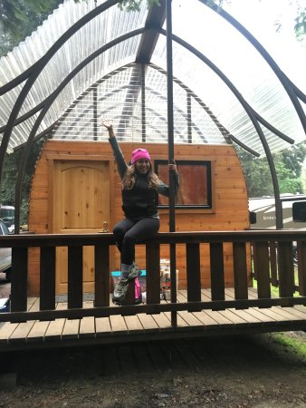 Big Sur Campground & Cabins: I loved our cabin so much!
