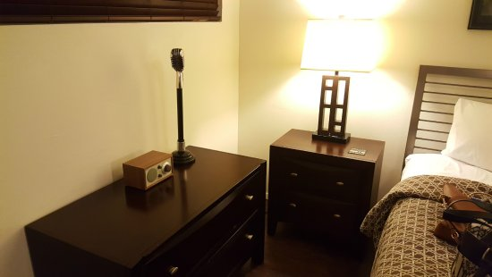 Motel Safari: bedside area