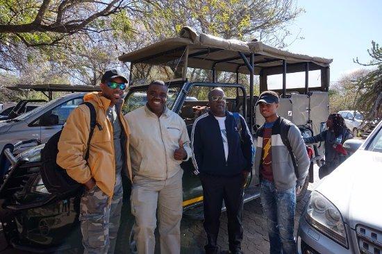 ฮาซีวิว, แอฟริกาใต้: Mandla, the absolute best guide!