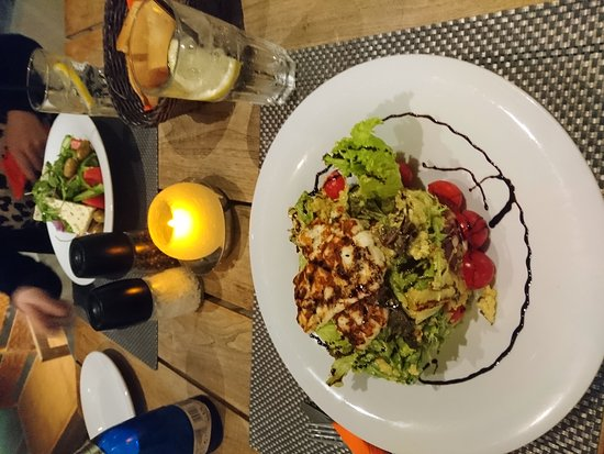 Prince Bar Restaurant: Beautiful salads