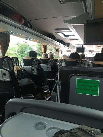 Inside the bus - Picture of FlixBus, Munich - Tripadvisor