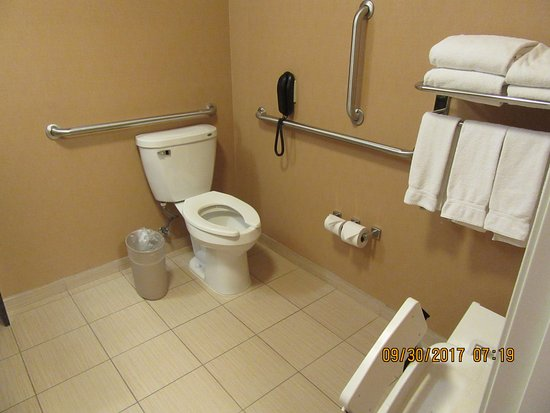 Holiday Inn Express & Suites Helena: ADA - plenty of grab bars for safety