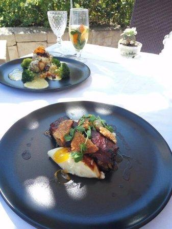 Franschhoek, Sudáfrica: Lunch at Dieu Donne's ROCA Restaurant