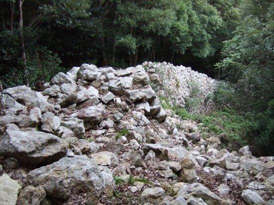 Kaneda Castle Ruins