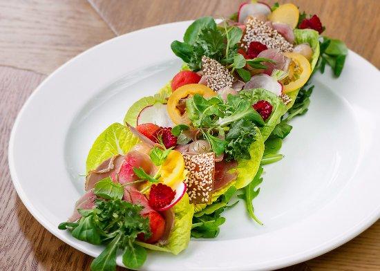 Goose breast salad