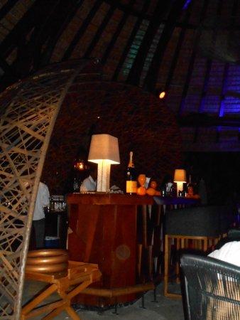 Trou d'eau Douce: View of the Sega Bar