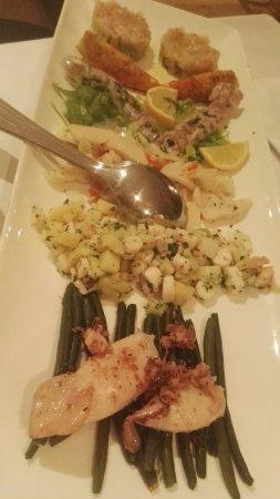 Jolly La Matta: Antipasto misto di pesce parte prima