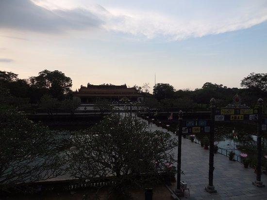Thai Hoa Palace : Thai Hoa paleis in Hue in Vietnam