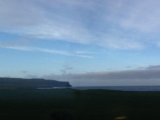 Footfalls Walking Holidays: Cliffs of Moher from Doolin