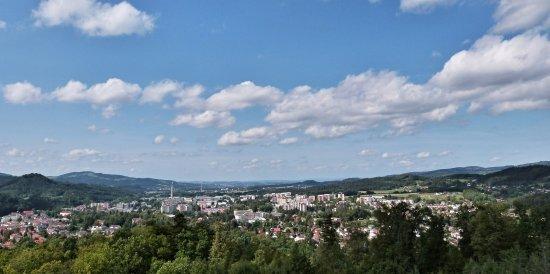 Roznov pod Radhostem, Tschechien: Výhled z rozhledny