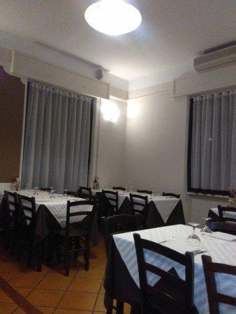 Melzo, Itália: Area pranzo/Cena