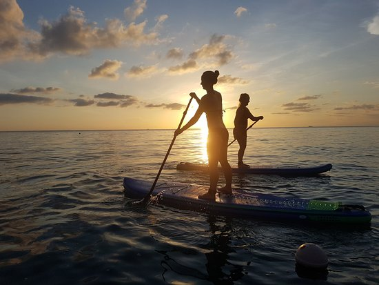 Plai Laem, Thailand: Gorgeous Sunrise Paddle.  Love the silhouettes.