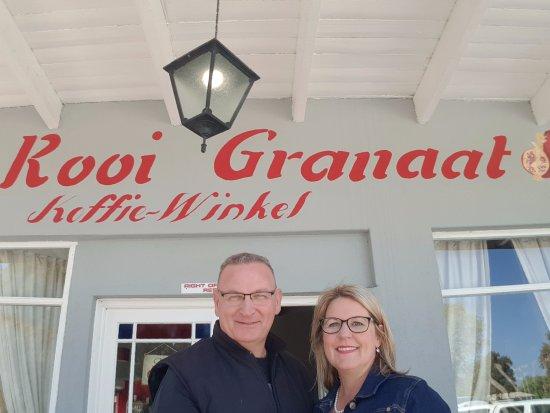 Die Rooi Granaat in Loxton. Had a great time