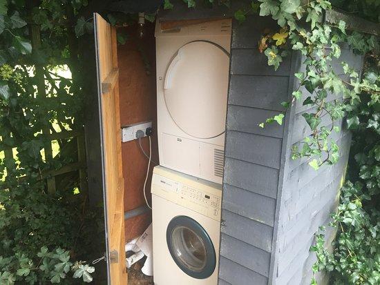 New Forest National Park Hampshire, UK: Washing Machine Shed