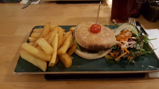 Gunnislake, UK: Burger