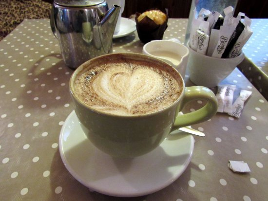 Roscommon, Irlanda: Cappuccino