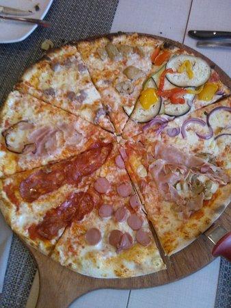 Tourlé: Pizza