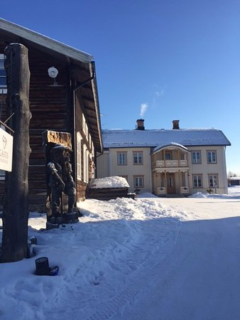 Vemdalen, Zweden: Detaljbild vinter