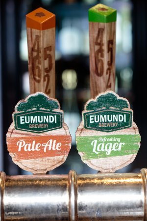 Eumundi Brewery beers brewed right here at the hotel