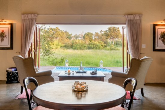 Manyeleti Game Reserve, Sudáfrica: Grant Suite with large plunge pool
