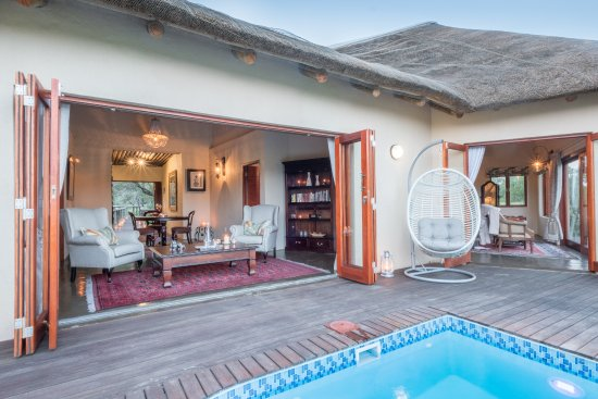 Manyeleti Game Reserve, Sudáfrica: Grant Suite pool