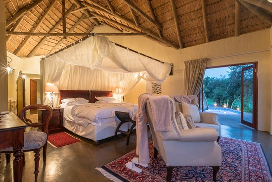 Manyeleti Game Reserve, Sudáfrica: Grant Suite luxury suite