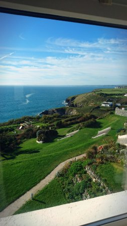 Mullion, UK: View from our seaview room