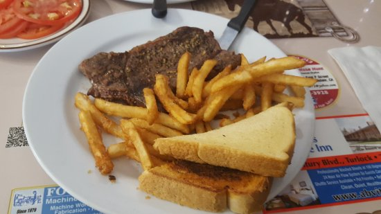 Oakdale, CA: meal