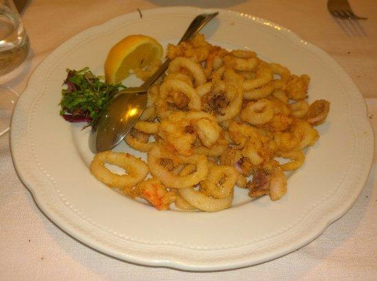 Cavaion Veronese, Itália: Fritto (morbidissimo)