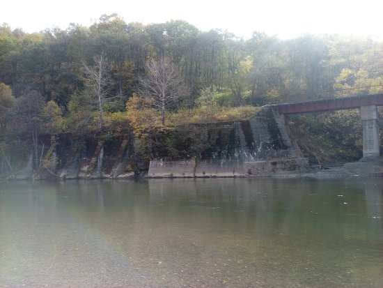 Svetly, Ρωσία: Старый японский мост в поселке Быков