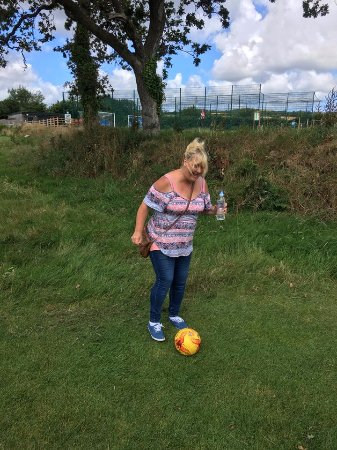 St Austell, UK: Me trying to play lol