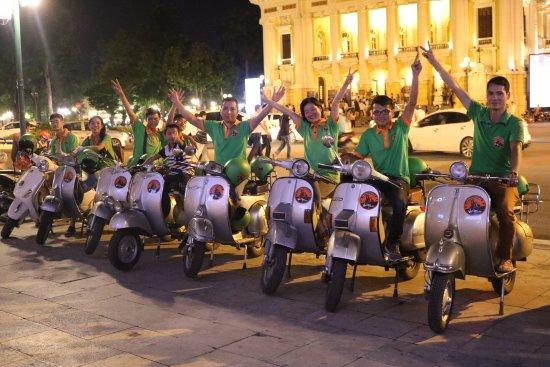 Hanoi Vespa Tours