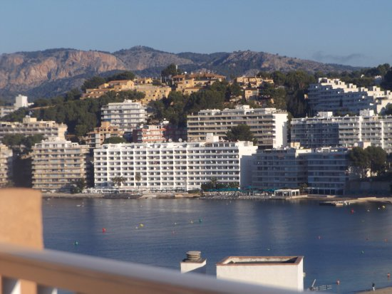 Senses Santa Ponsa: view from the balcony
