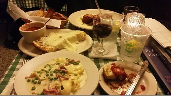 Paul's Pasta Shop : This was a majority of the meal. Awesome food!