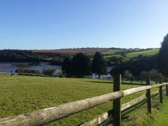 Gweek, UK: Beautiful views