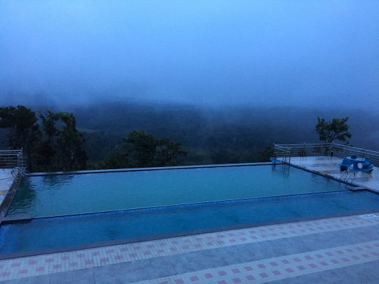 Infinity pool picture of coorg cliffs resorts pollibetta tripadvisor Hotels in coorg with swimming pool