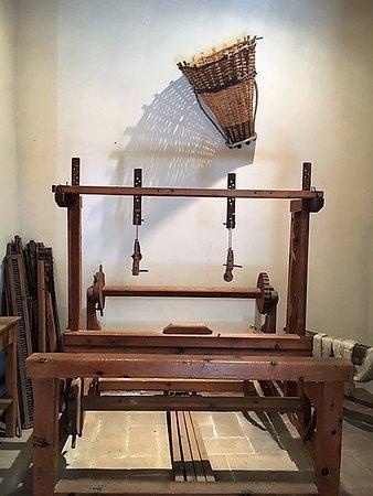 Bosisio Parini, Museo Casa Natale di Giuseppe Parini: la stanza del telaio