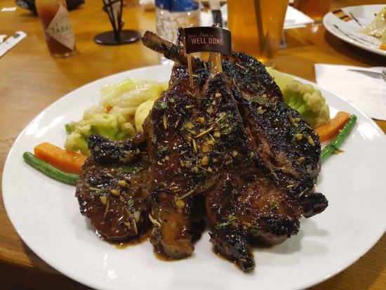 Gloria Jean's Coffees: Australin Lamb Chops