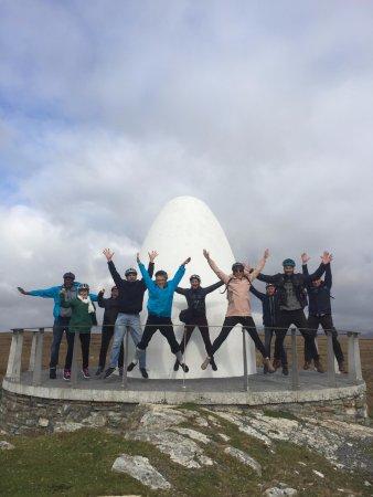 #TBEXIreland at the Derrigimlagh Signatory Discovery Point in Clifden #Connemara #Starjump