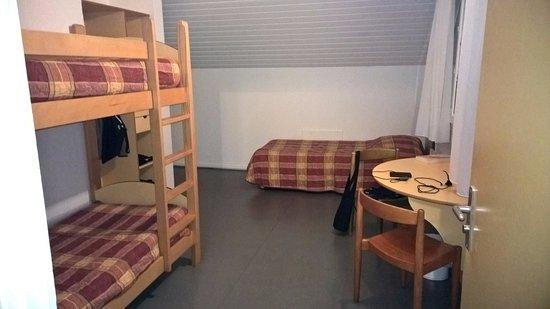 Saint Die des Vosges, Frankrike: Chambre enfants, attenante à la chambre parentale.