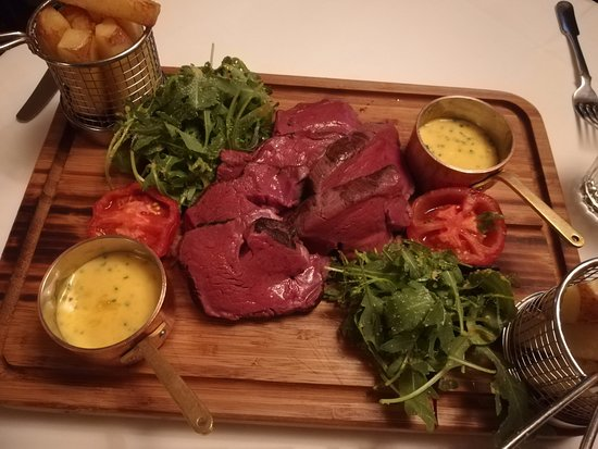 Staddlebridge, UK: Chateaubriand