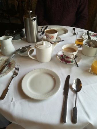 Staddlebridge, UK: Breakfast table