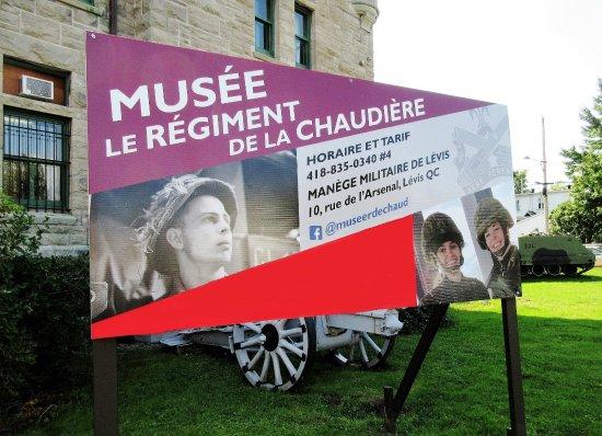 Musee Le Regiment de la Chaudiere : Musée Le Regiment de la Chaudière
