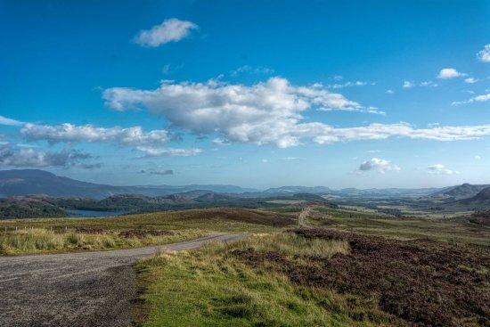 Invermoriston, UK: South side of Loch Ness