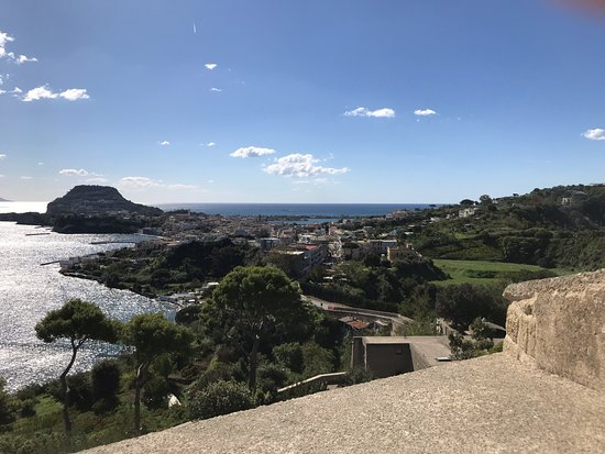 Baiae, Italy: Panorama dalla terrazza