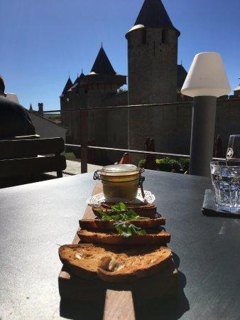 Sarl le Creneau: Foie con vistas