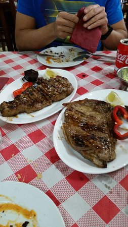 Firgas, İspanya: Chuletas de ternera