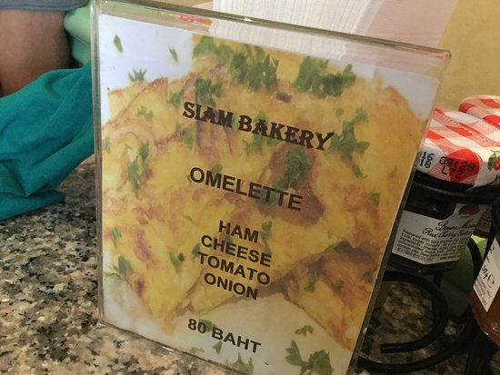 Siam Bakery: Omelette