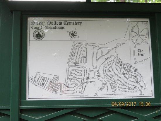 Concord, MA: Helpful map