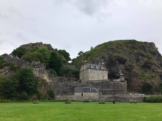 Dumbarton, UK: Castle